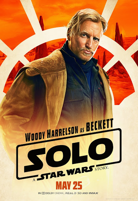 "A sit down with Woody Harrelson ""Tobias Beckett"" from Solo: A Star Wars Story! In theaters today! #HanSoloEvent #HanSolo"