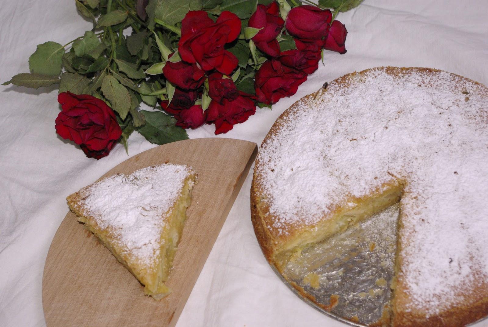 Szybkie i smaczne ciasto z rabarbarem.