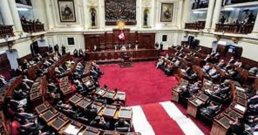 Congreso de la República deja sin efecto concurso público para cubrir 209 plazas