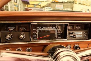 1967 Plymouth Belvedere GTX 426 Hemi Speedometer