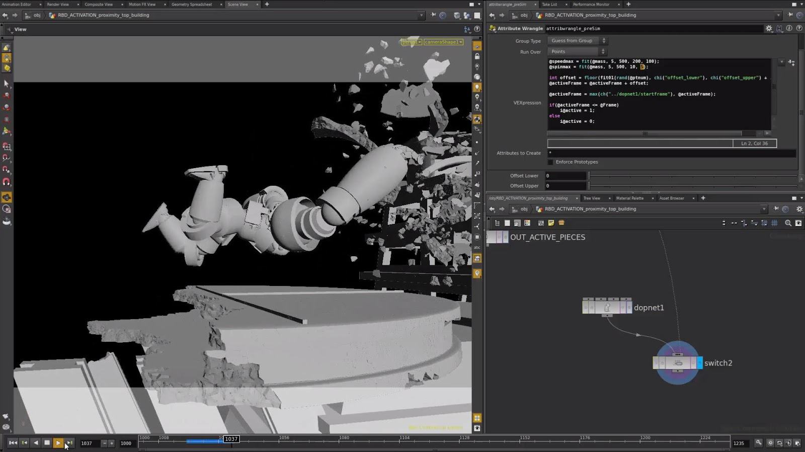 Mastering Destruction in Houdini with Keith Kamholz - CG Master