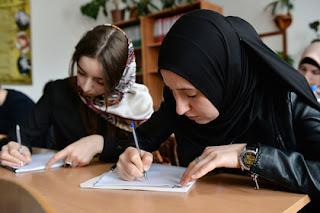 Hidjab in Russland