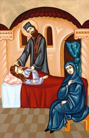 Ενα θαύμα του Άγιου Εφραίμ Νέας Μάκρης