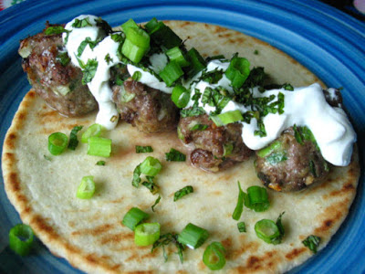 Lamb Meatball Gyros With Yogurt And Mint – Real Simple Mag Recipe