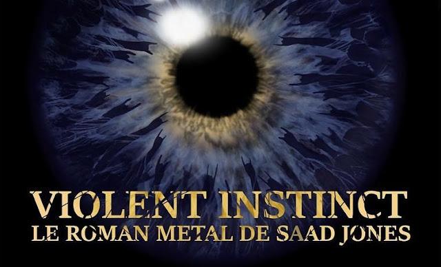 Saad Jones Roman Violent Instinct Thriller Metal