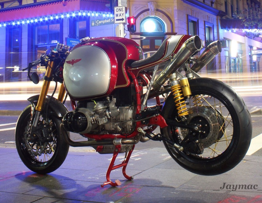 bmw r80 big tank return of the cafe racers. Black Bedroom Furniture Sets. Home Design Ideas