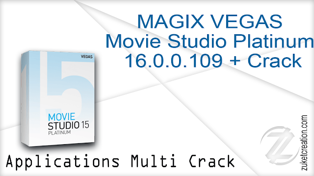 MAGIX VEGAS Movie Studio Platinum 16.0.0.109 + Crack