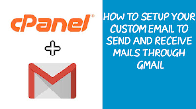 how to setup your custom email to send and receive email through gmail