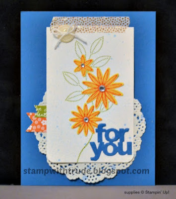 Grateful Bunch, Greeting card, Stampin' Up!, Stamp with Trude