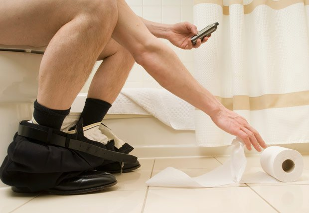 Dafuq?! Man's rectum falls out of his body after using phone on toilet seat for 30 minutes