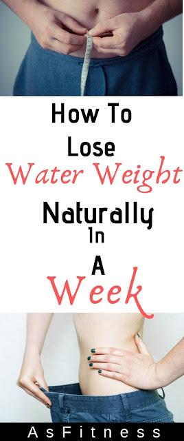 Comment perdre du poids de l'eau