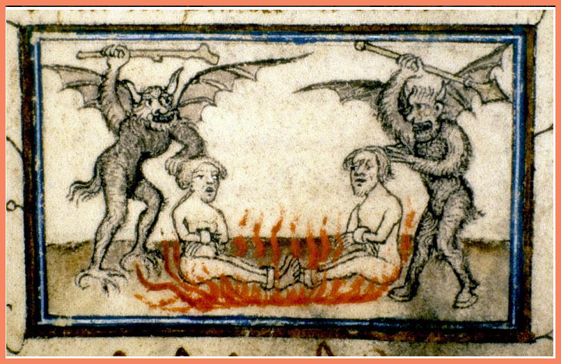 the devil in the medieval mind horns hooves and hell
