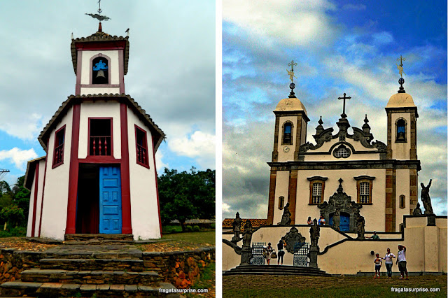 Cidades Históricas de Minas Gerais: Sabará e Congonhas do Campo