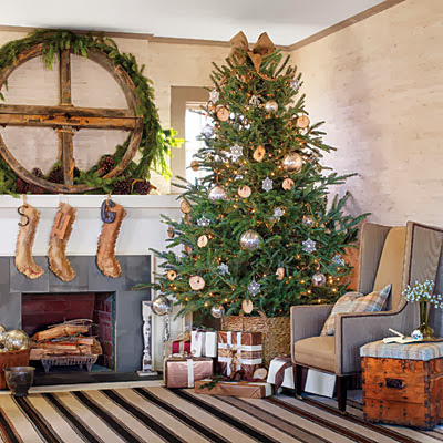 Rustic - Holiday Decorating