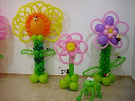 9 decoraciones en globos que no deben de faltar en tus for Decoracion simple con globos