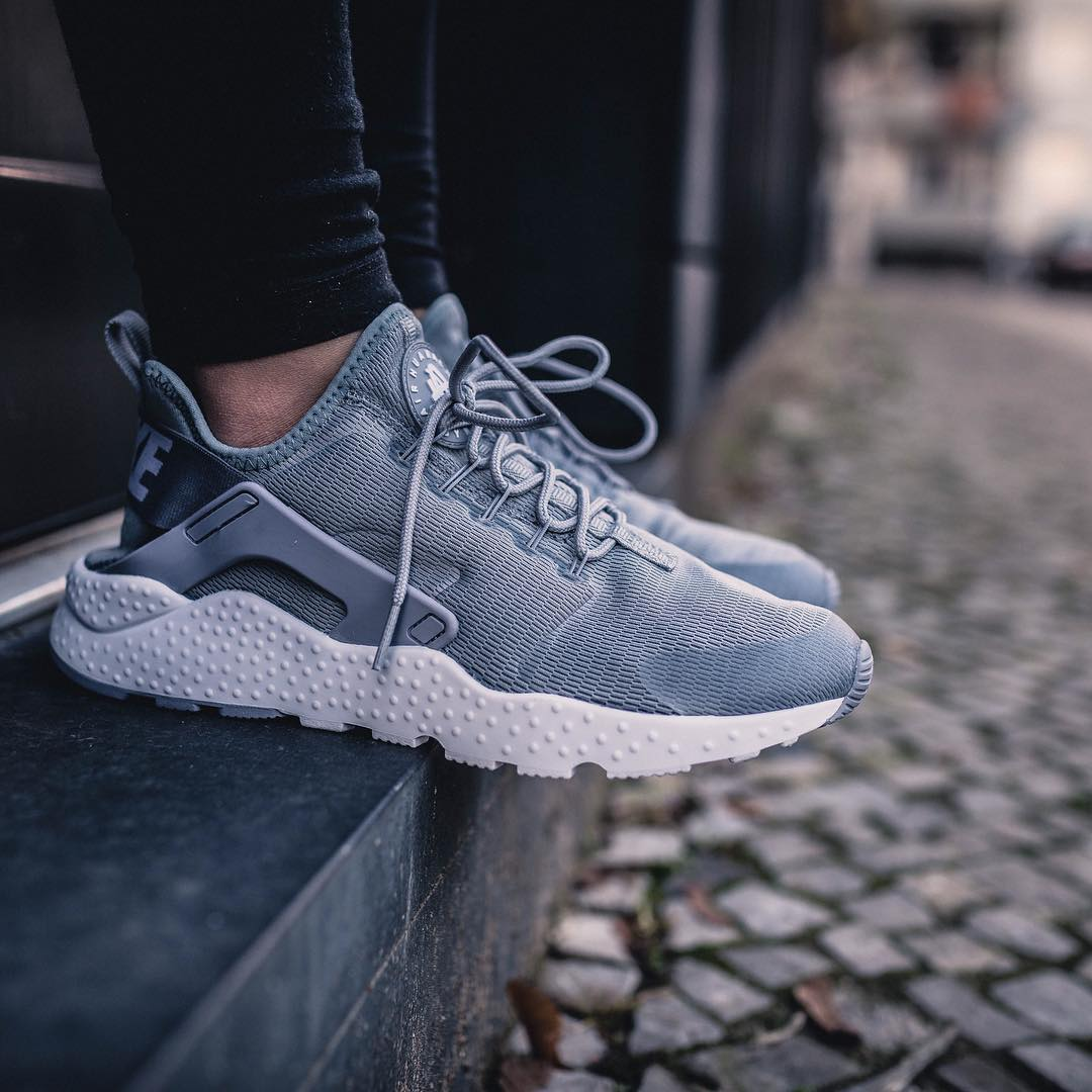 Nike Air Huarache Run Ultra Grey Sheer Bliss Co Uk