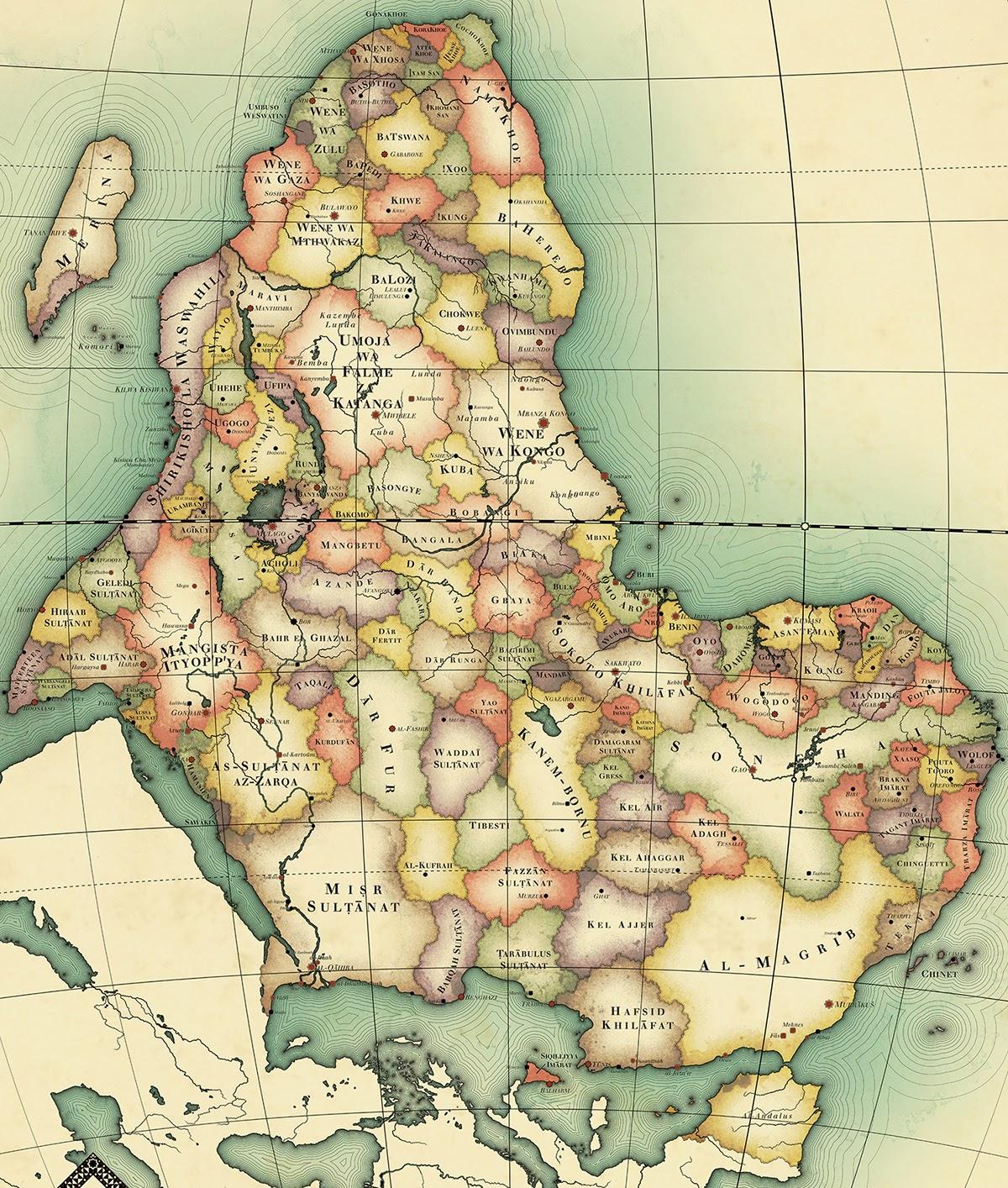 Alternate Non Colonial Africa Imaginarymaps