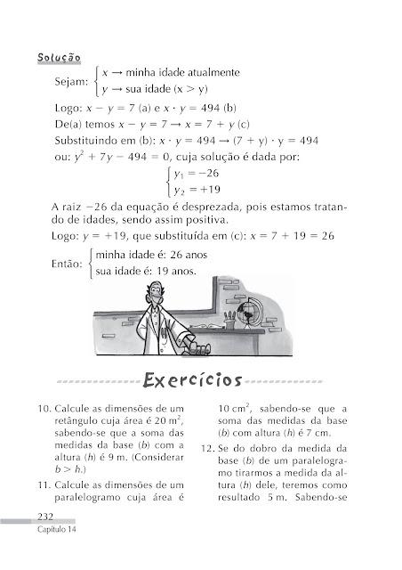Sistema de Equações do 2º Grau