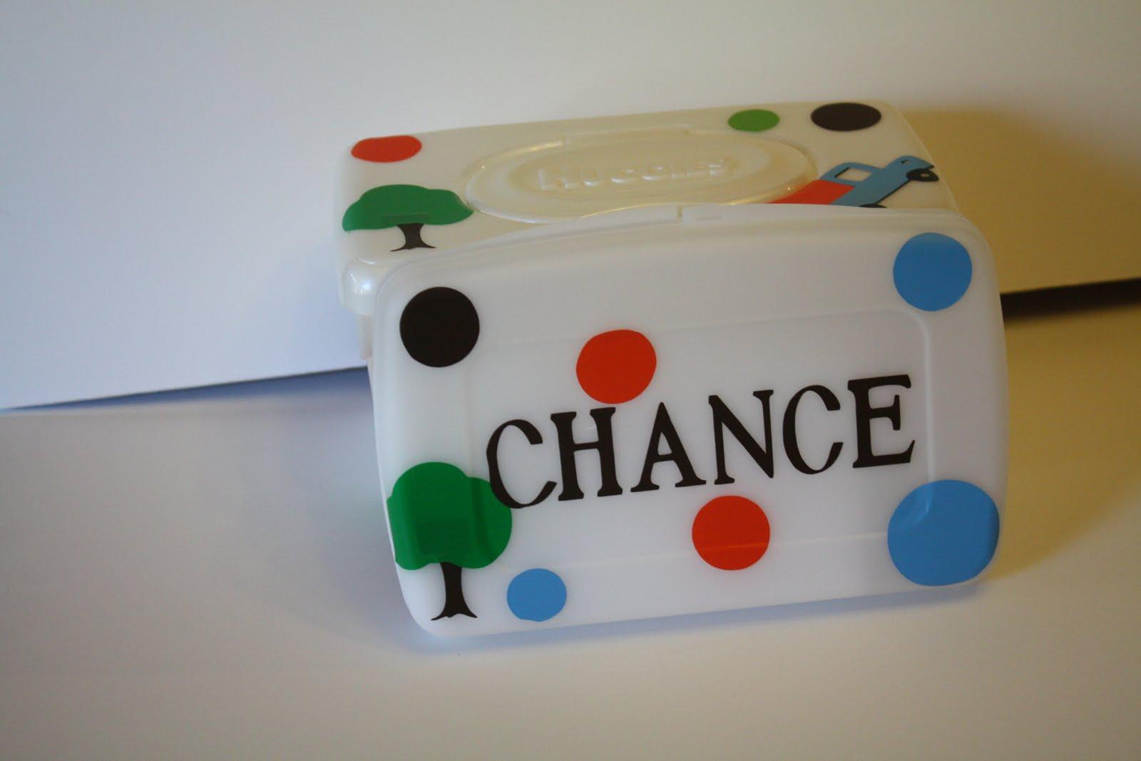 Christine S Corner Decorated Baby Wipes Case