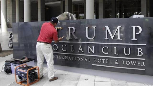 Quitan el nombre de Trump de uno de sus hoteles en Panamá
