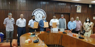 Tripartite MoU Signed Between CSIR, UBA IIT Delhi and Vijnana Bharati