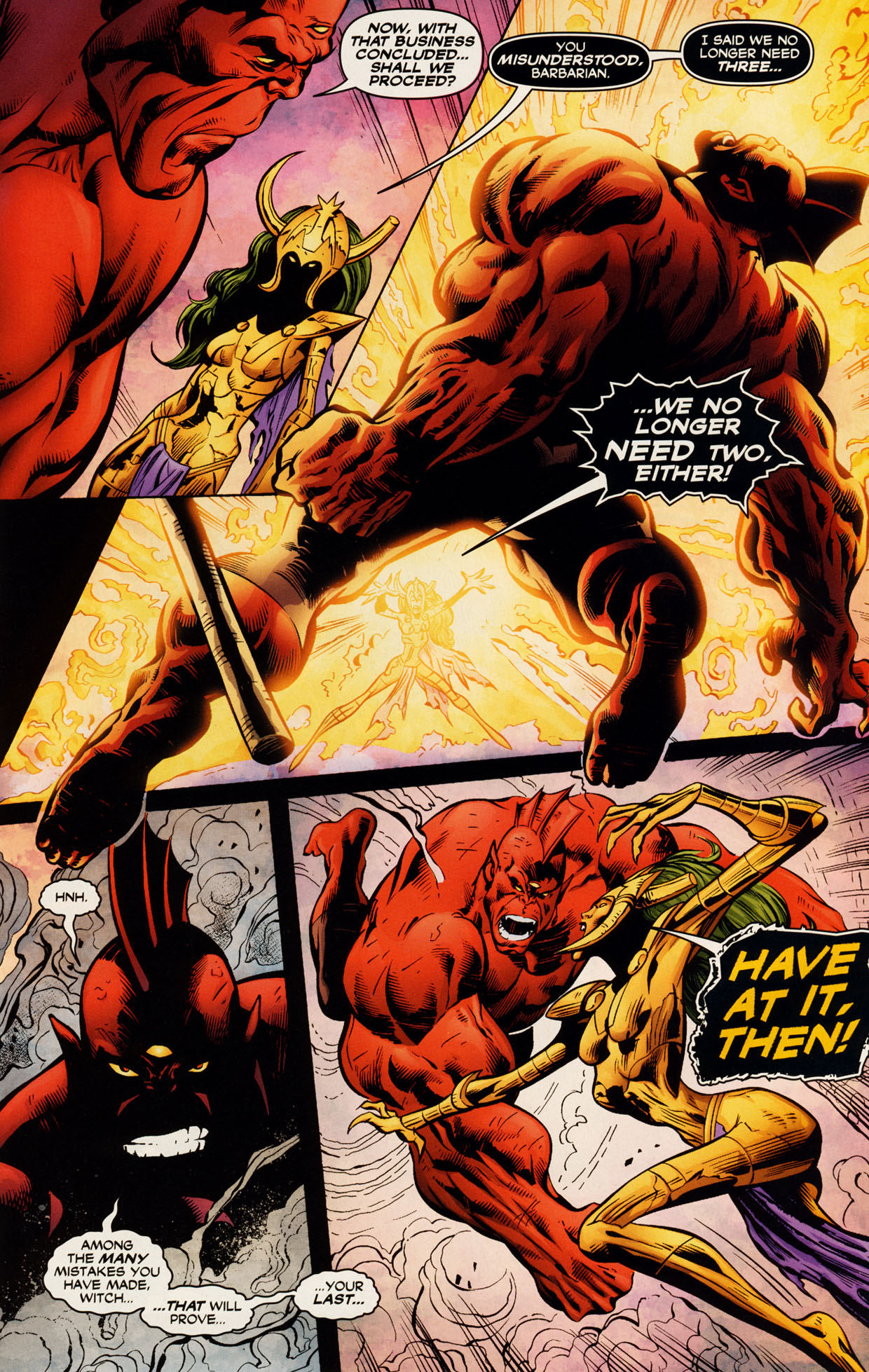 Read online Trinity (2008) comic -  Issue #51 - 14