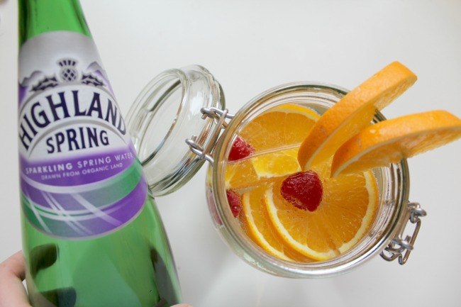 Get hydrated with fruit infused Highland Spring water. Nourish ME: www.nourishmeblog.co.uk
