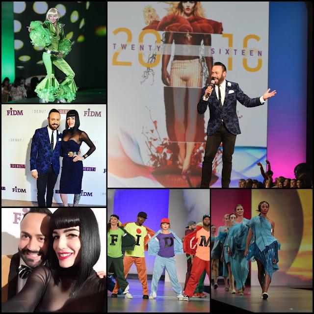 NICK APPEARANCES.....Blog Recap of the FIDM DEBUT 2016 Shows + DEBUT L.A. Fashion Gala + VIP Meet and Greet Pics!