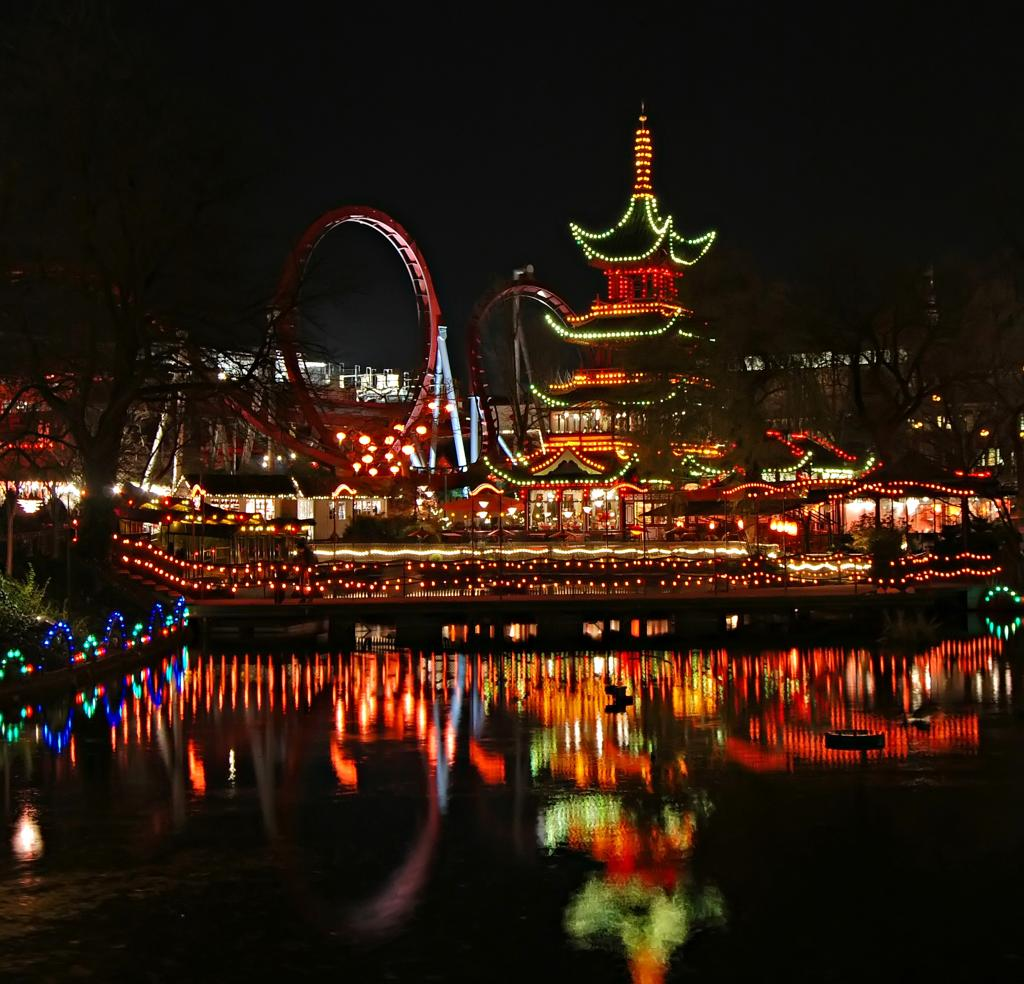 Tivoli Amusement Park Aarhus Going To Be In Denmark For Work From Us Next Weekend And