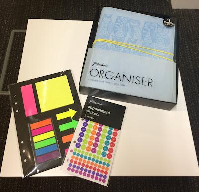 Paperchase organiser diary planner