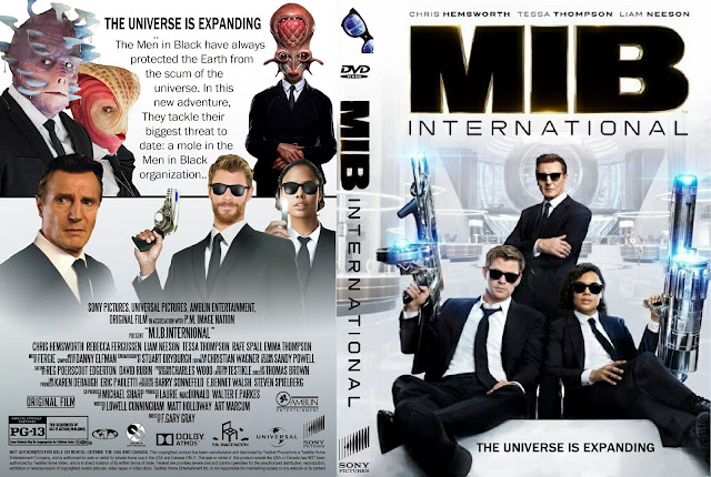 Men in Black: International DVD Cover