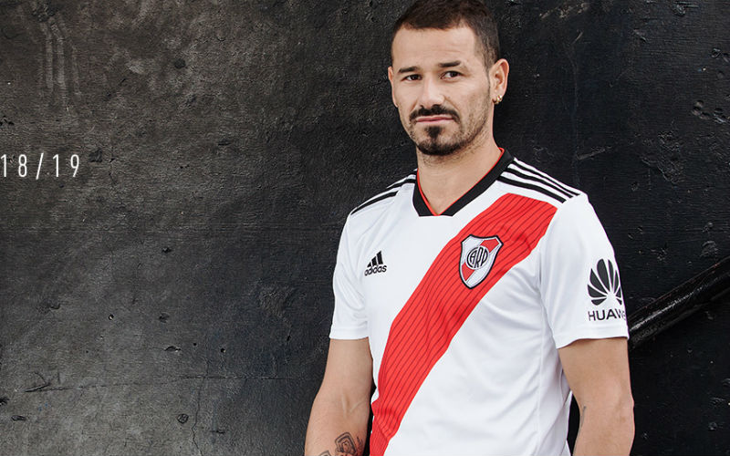 River Plate jersey 2018 without sponsor