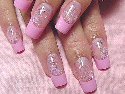 Manicura Francesa En Color Rosa 17 Imágenes ε Diseños De Uñas