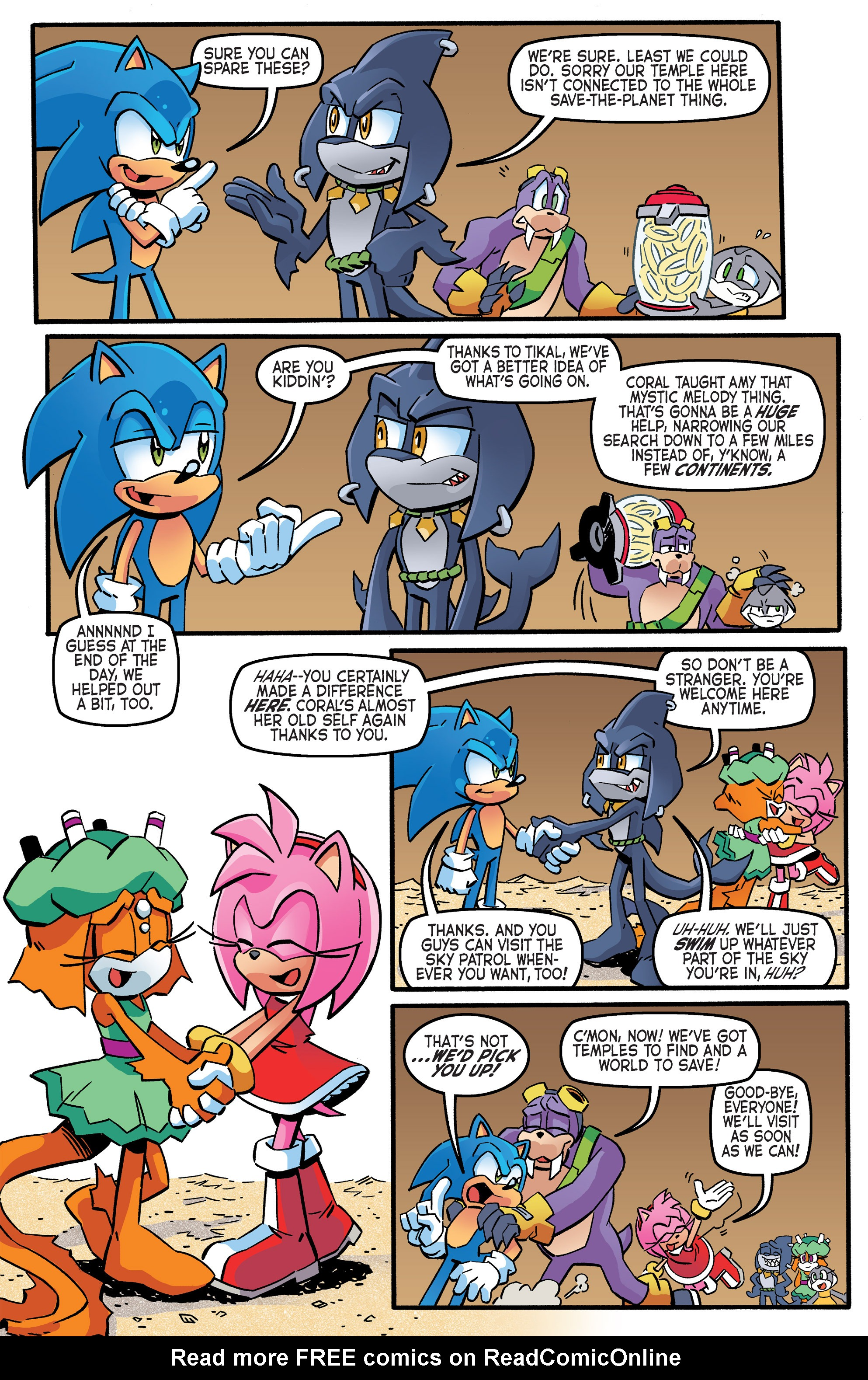Read online Sonic The Hedgehog comic -  Issue #263 - 16
