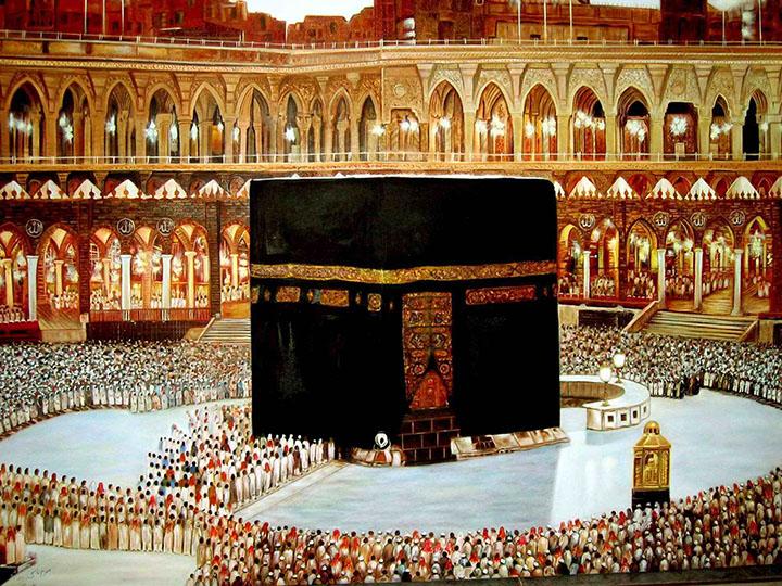 dini manzara resimleri
