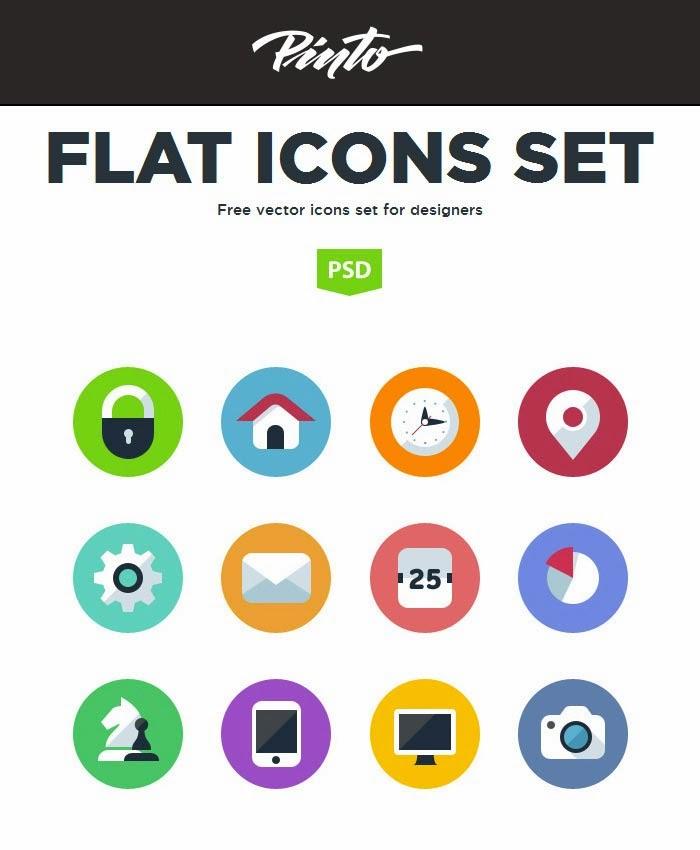 FLAT ICONS SET