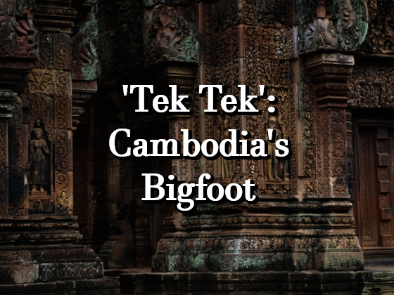 'Tek Tek': Cambodia's Bigfoot