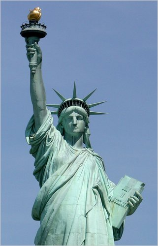 Liberty Enlightening the World - The Statue of Liberty at The Decorated House