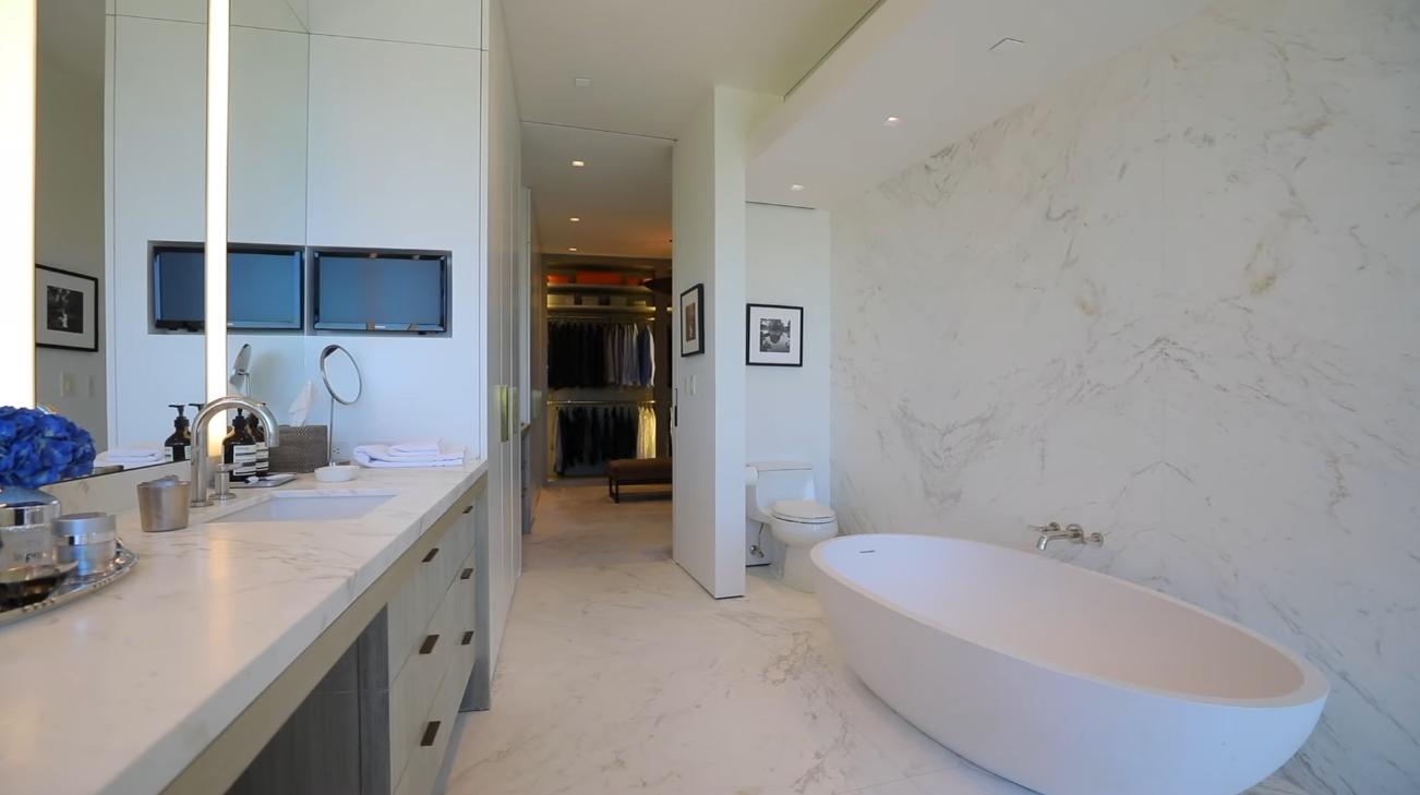 Luxury Mansion Interior Design Tour vs. Iconic Architectural Statement by Mark Rios FAIA   Bel-Air