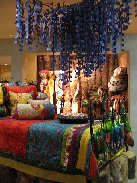 Bohemian Style Decor: Eye For Design: Bohemian Interiors And Accessories