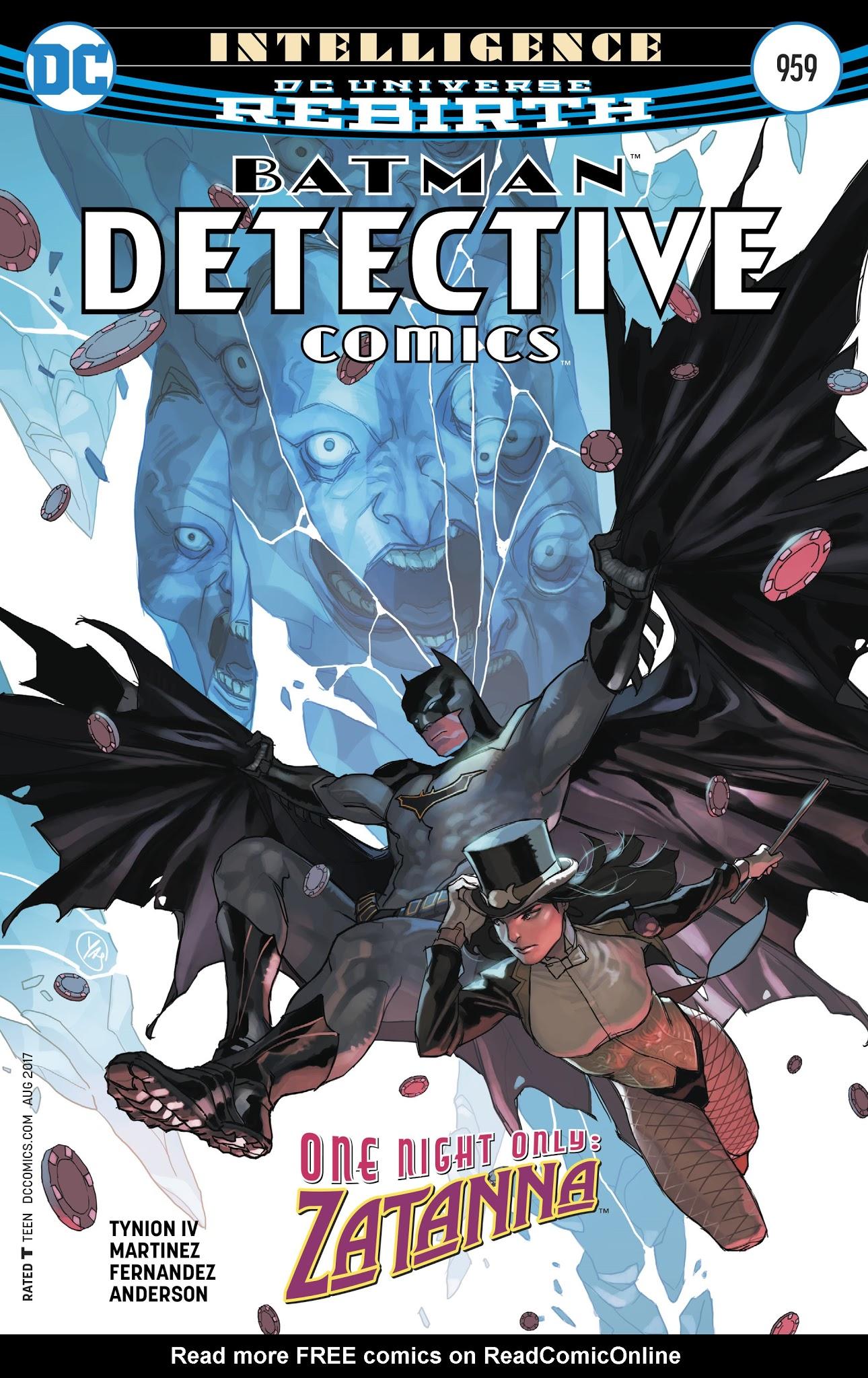 Detective Comics (2016) 959 Page 1