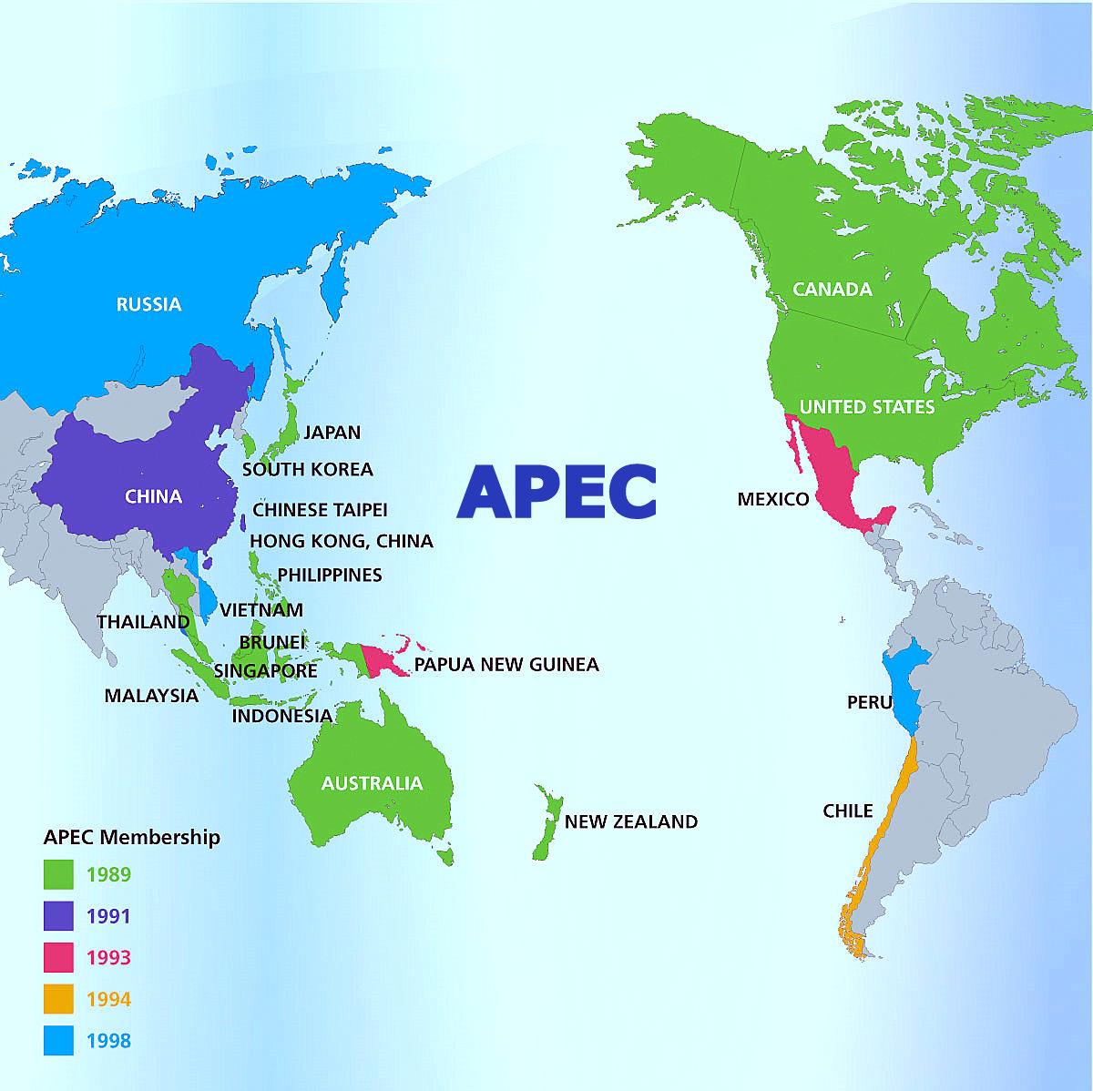 The Geo Trade Blog: América Latina – an Atlantic Side and ...