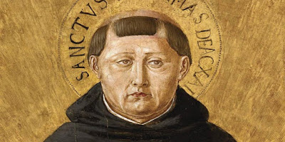 imagem de São Tomás de Aquino