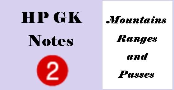 HP GK Notes