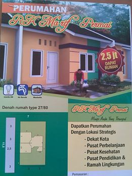 perumahan murah di  Lombok, NTB