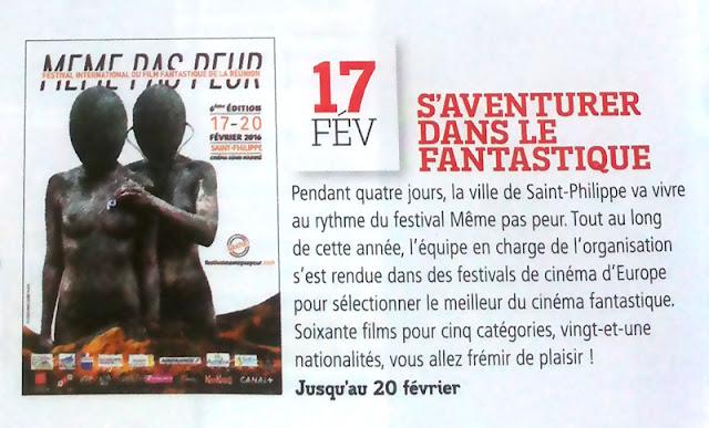 MEME PAS PEUR 2016 dans Femme Magazine