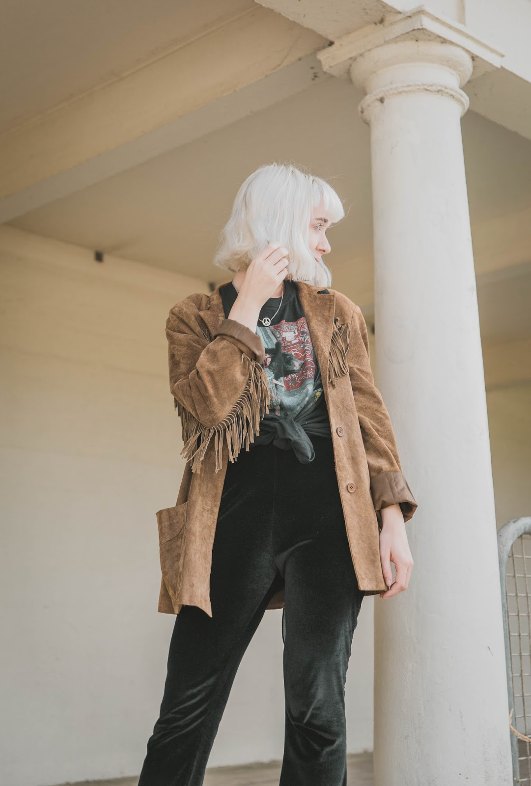 how-to-wear-fringe-suede-jacket