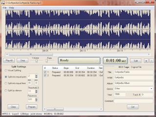 تنزيل برنامج قص الصوت AD MP3 Cutter