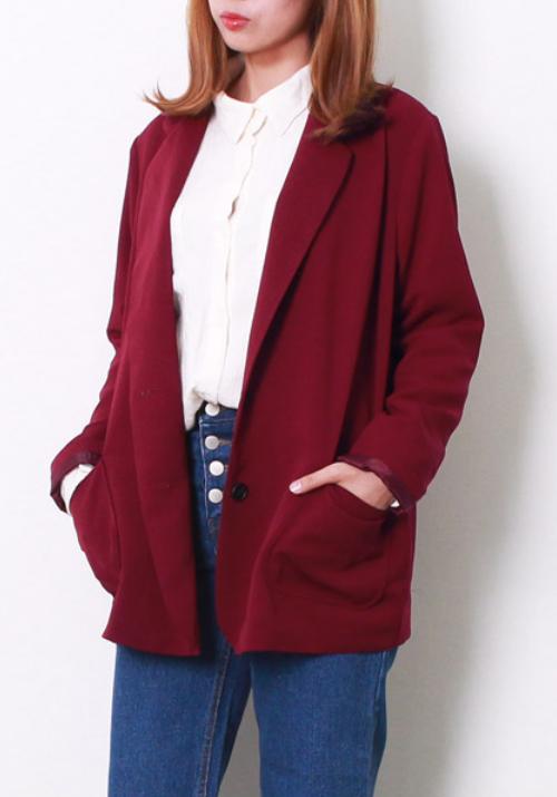 Basic Loose Fit Jacket