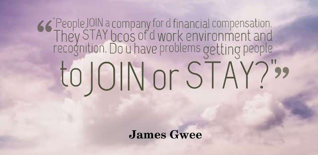 Empowering Quotes From James Gwee